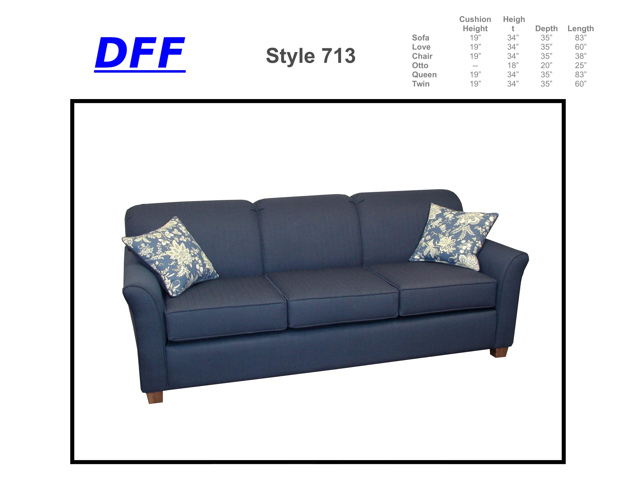 713 Sofa Sleeper
