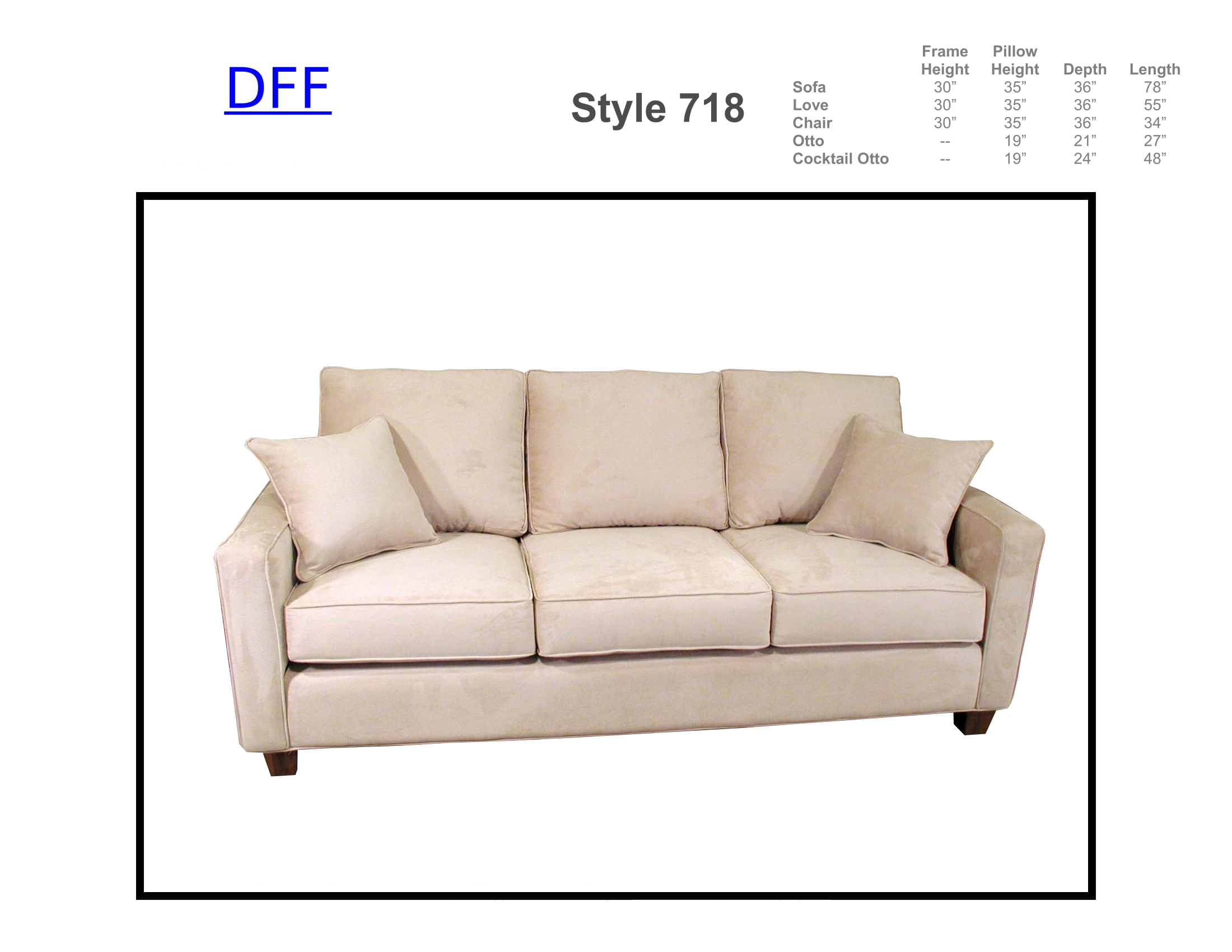 718 Sofa Sleeper