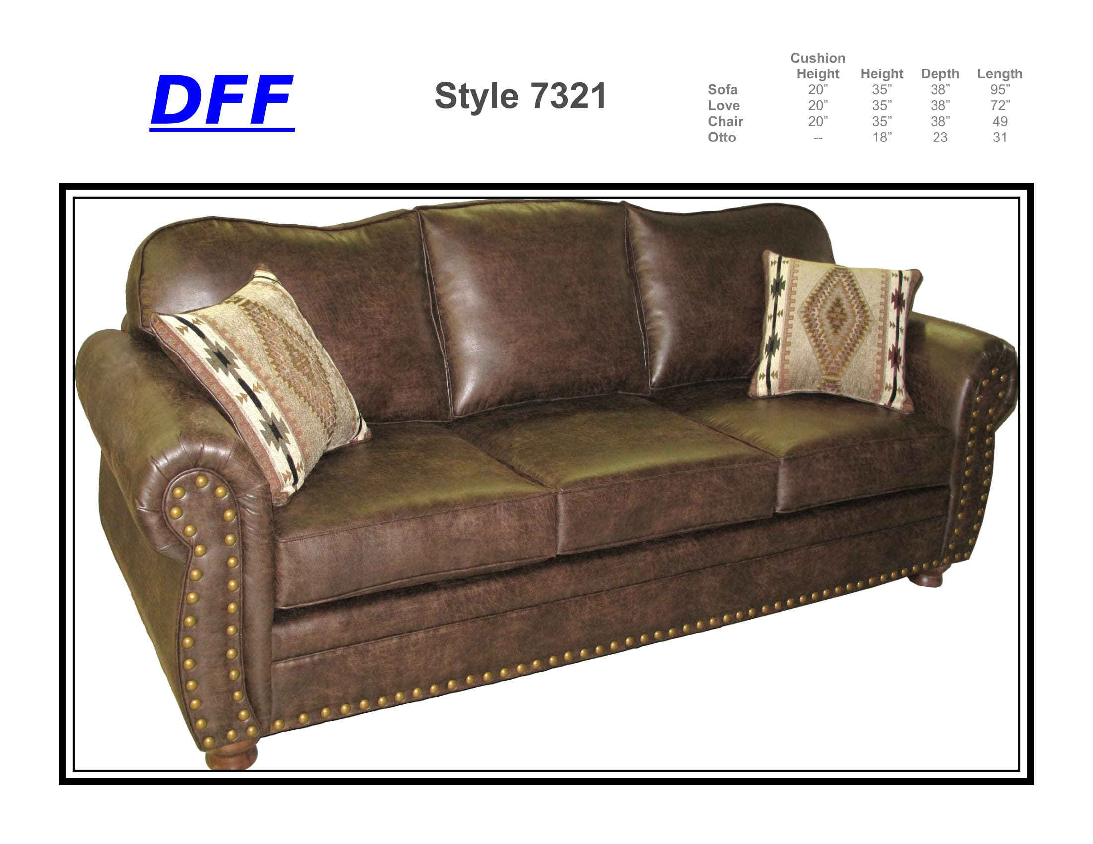 7321 Sofa Sleeper