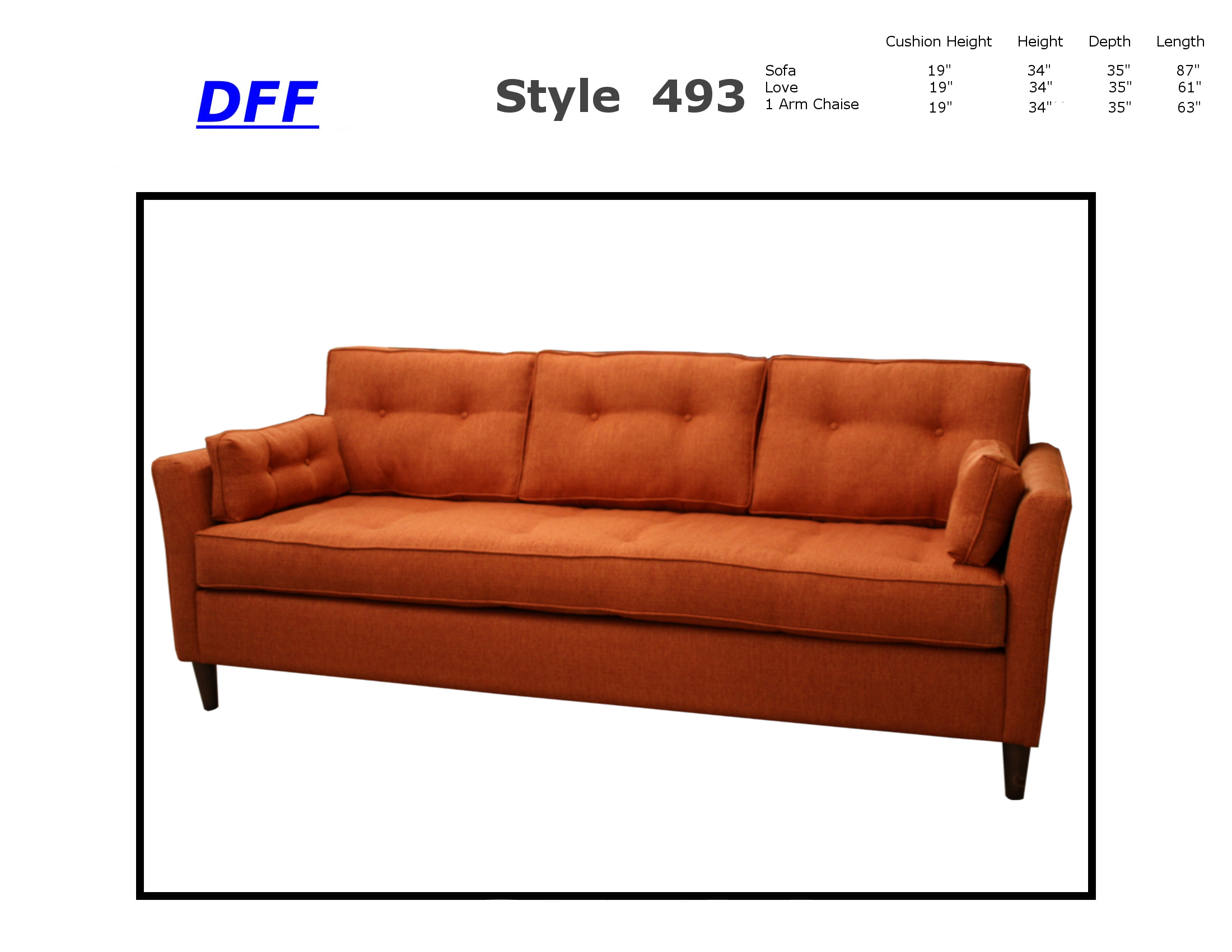 493 Sleeper Sofa