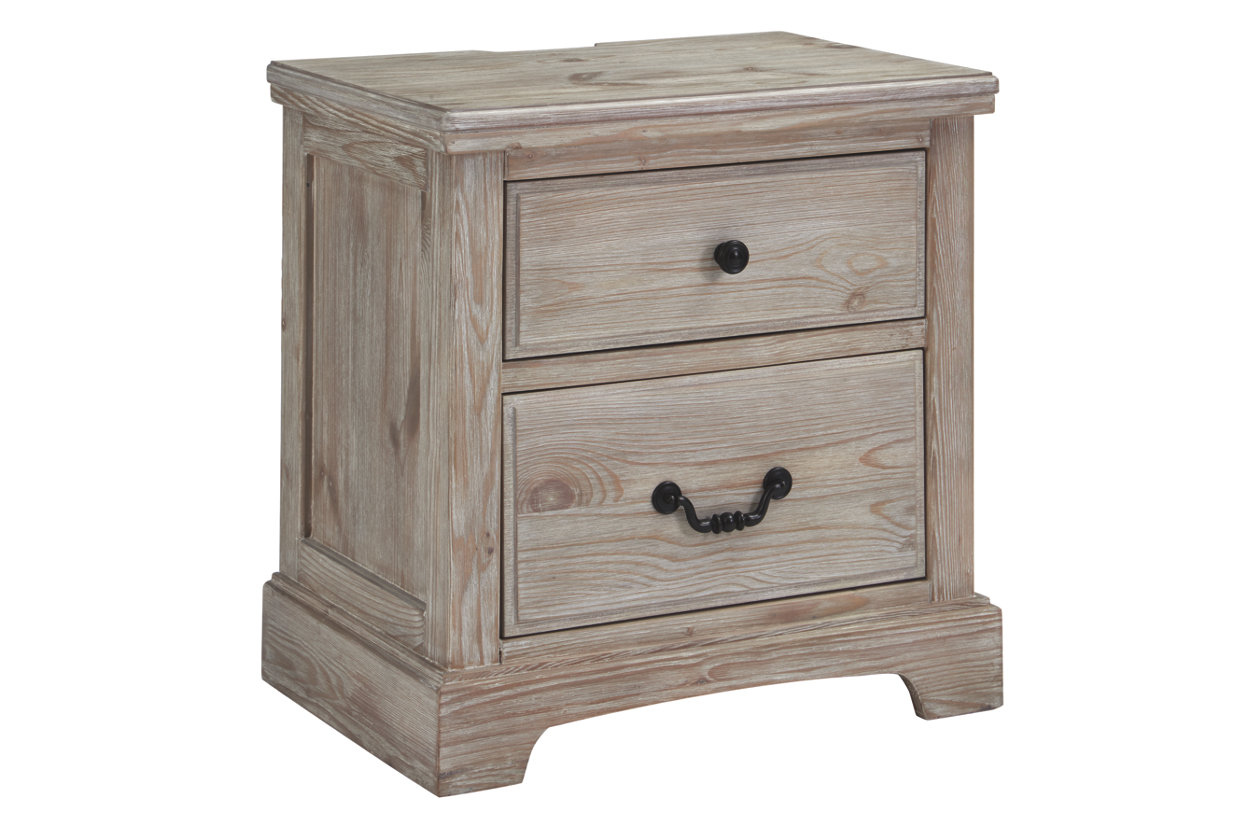 Charmyn 2 Drawer Nightstand (B722)