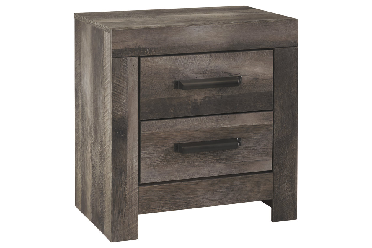 Wynnlow 2 Drawer Nightstand (B440)