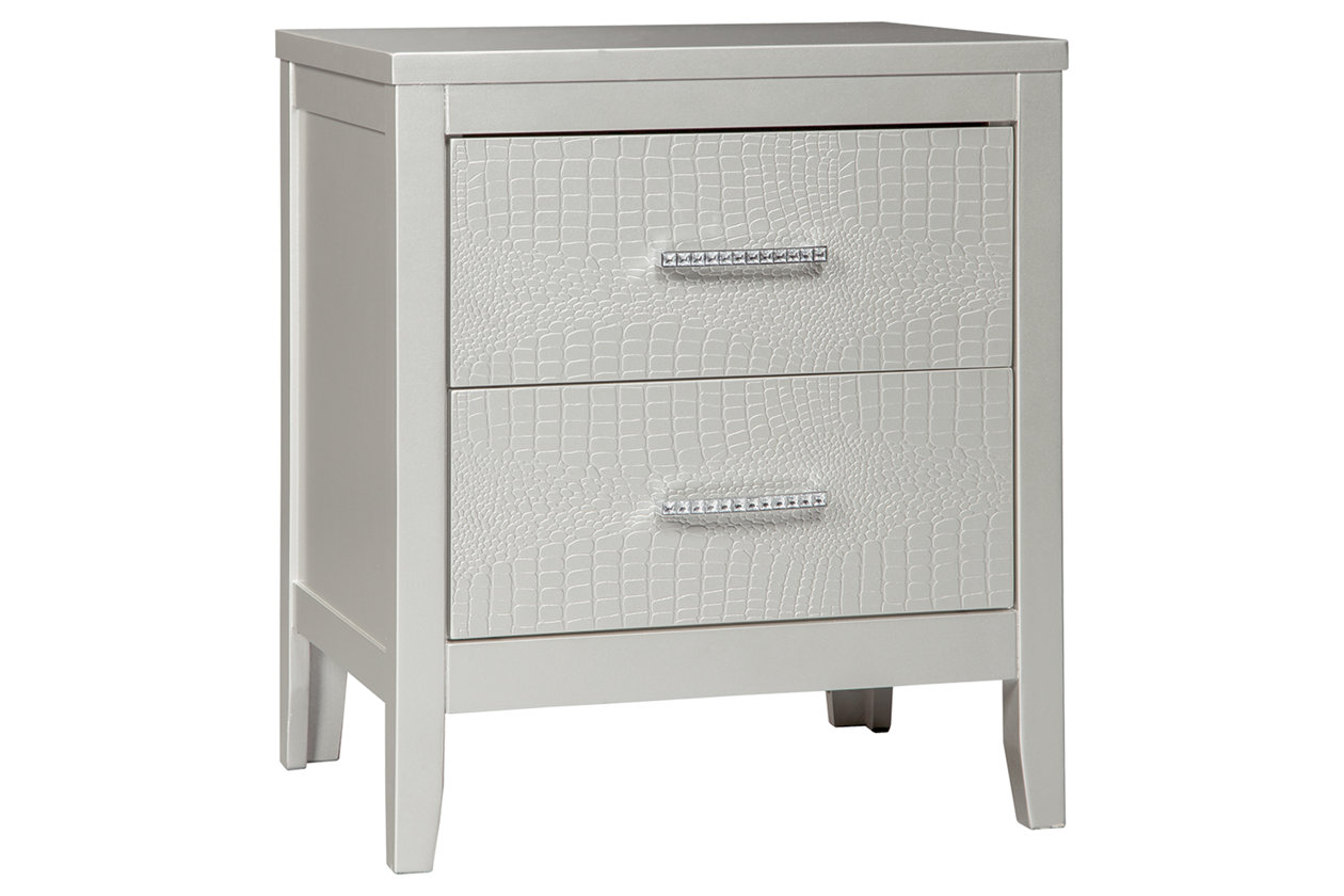 Olivet 2 Drawer Nightstand (B560)