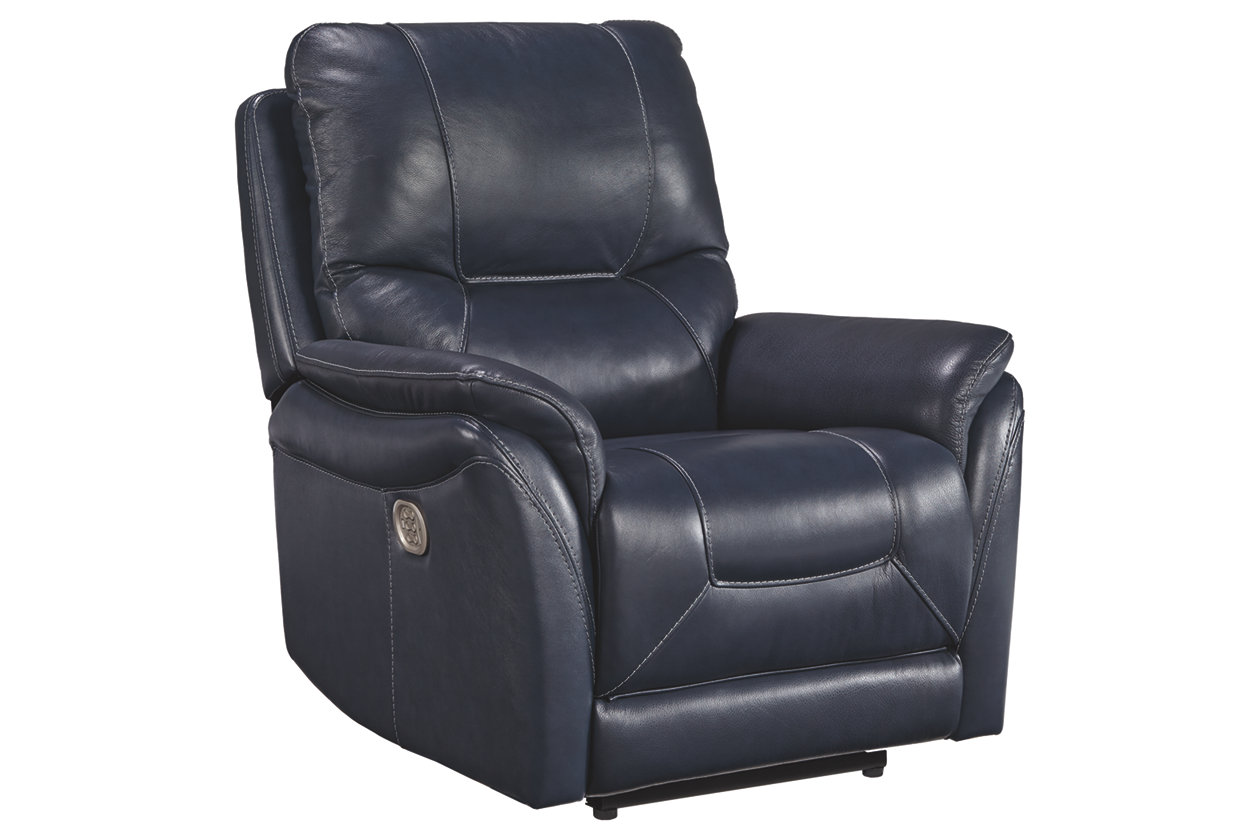 Stolpen Power Leather Recliner (565)